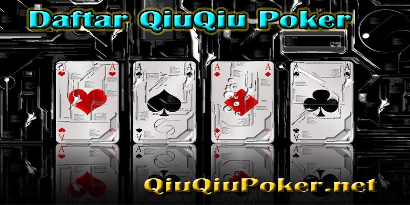 Daftar QiuQiu Poker